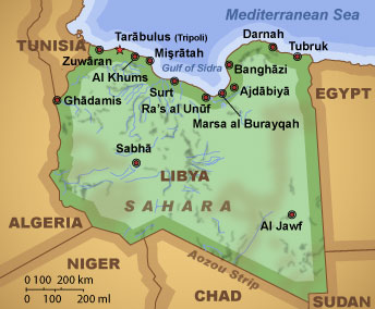 Libya map - Daphne Caruana Galizia's Notebook | Running