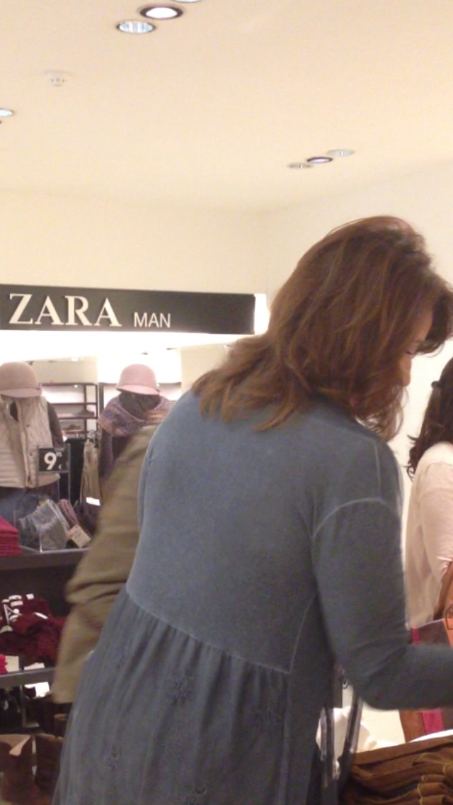 Michelle Muscat at Zara 16 November 2013