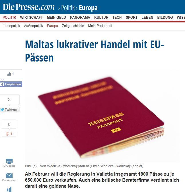 Die Presse 7 January 2014