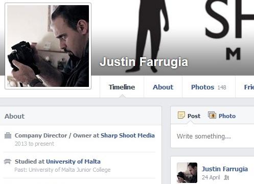 Justin Farrugia - Sharp Shoot Media (Founded 2013)