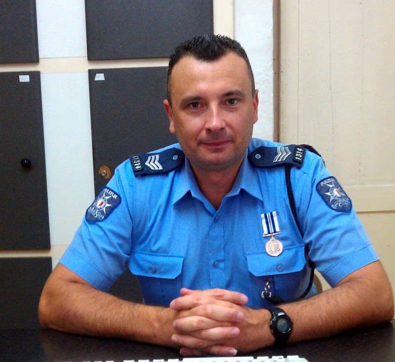 This policeman has voted for Norman Lowell in every EP election