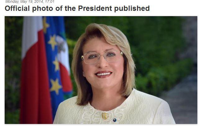 Presidents Official Portrait
