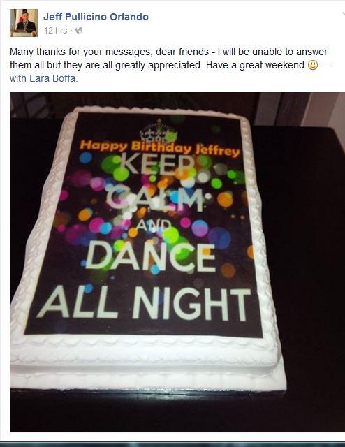 Jeffs Birthday Cake With Smarties Daphne Caruana Galizias