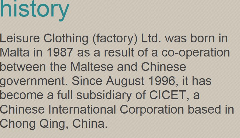The company was actually set up in 1986, not 1987.