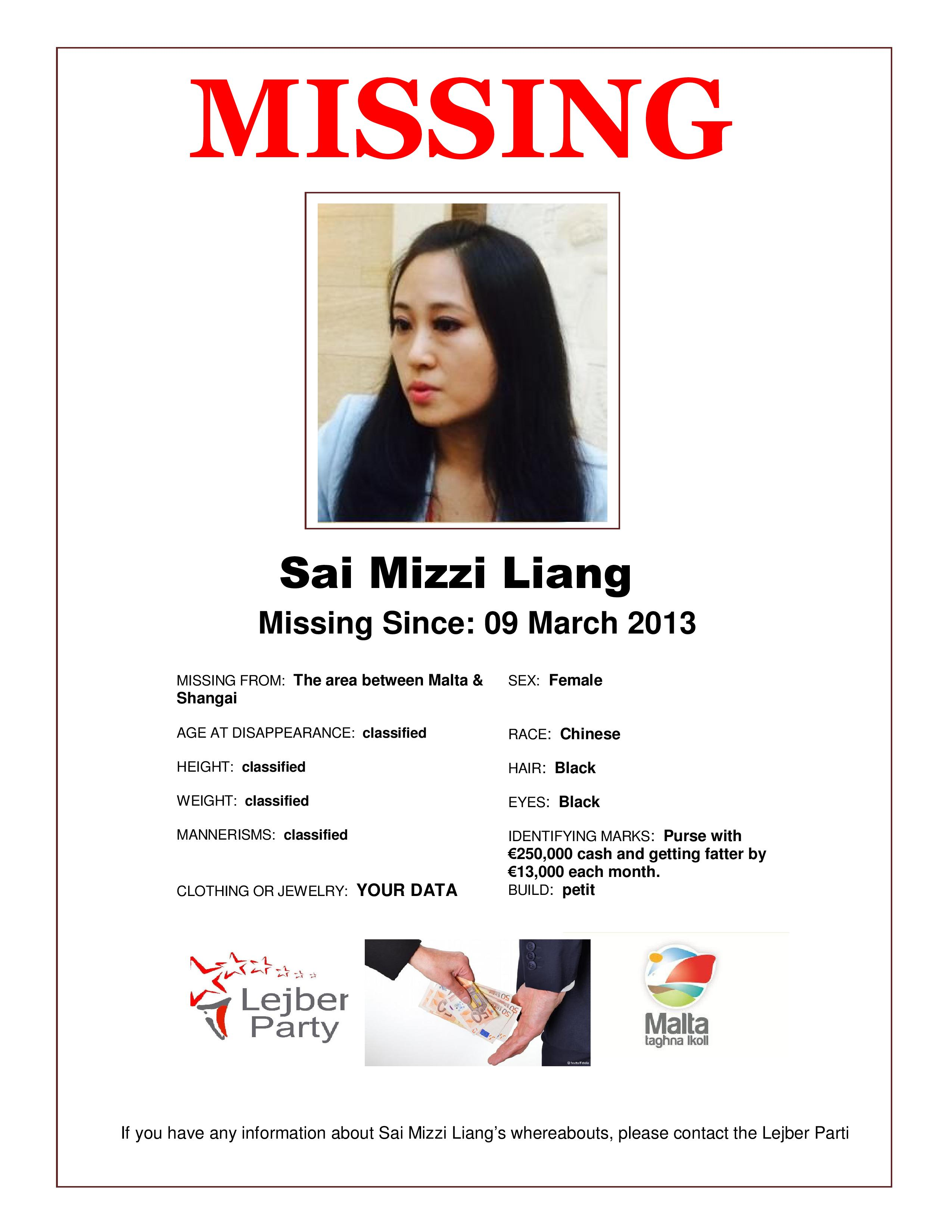 Search for Sai please help by sharing this Missing Person – Missing Person Poster