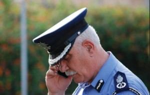 Ray Zammit - he and his sons have ended their career in the police force covered in glory.