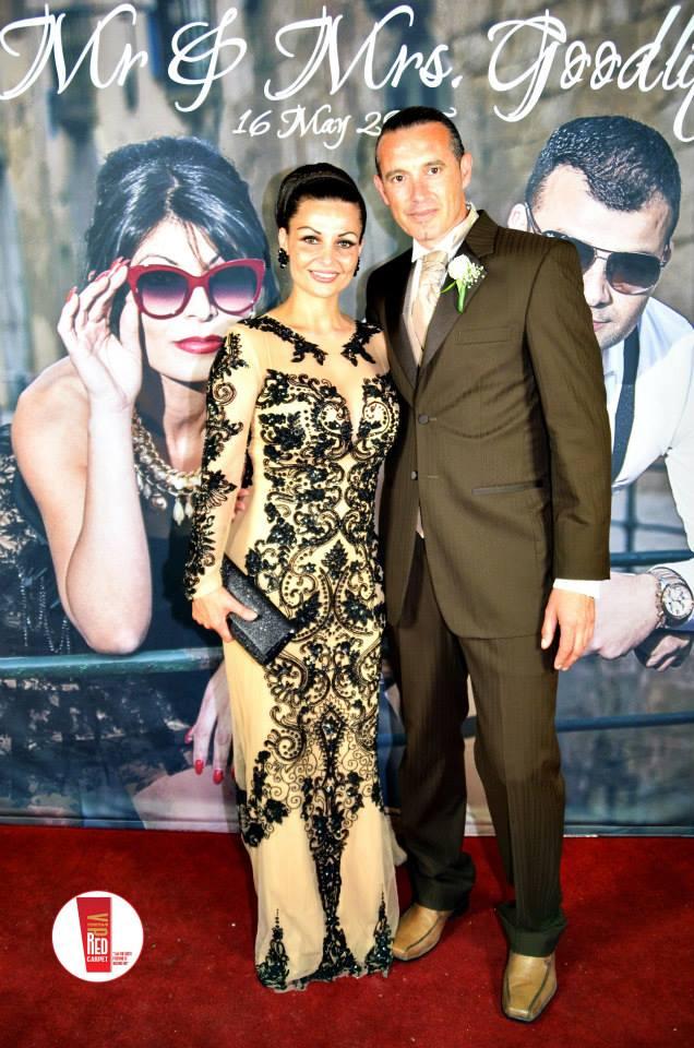 Floren Sultana's mother, Odette Goodlip, with her common-law husband Darren Debono