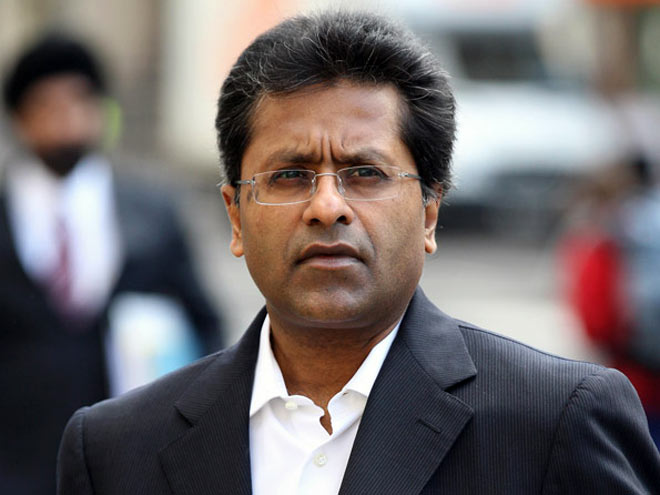 Lalit Kumar Modi, the Indian businessman who is the subject of a money-laundering and kickbacks investigation in India, which he fled in 2010.
