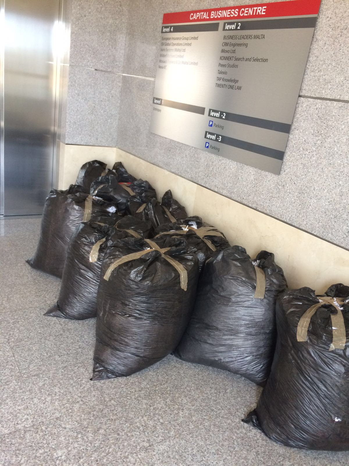 Nexia trash bag 2