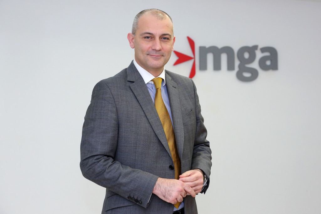 Joseph Cuschieri, post-March 2013 political appointee to the executive chairmanship of the Malta Gaming Authority. He is the Foreign Minister's son-in-law and therefore a 'politically exposed person' twice over.