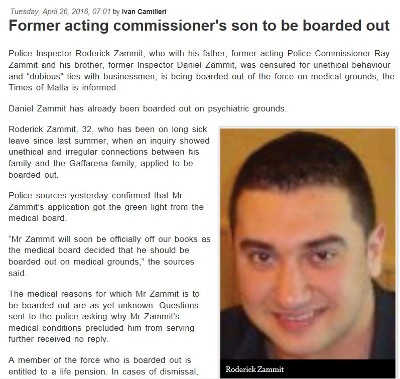 roderick zammit boarded out