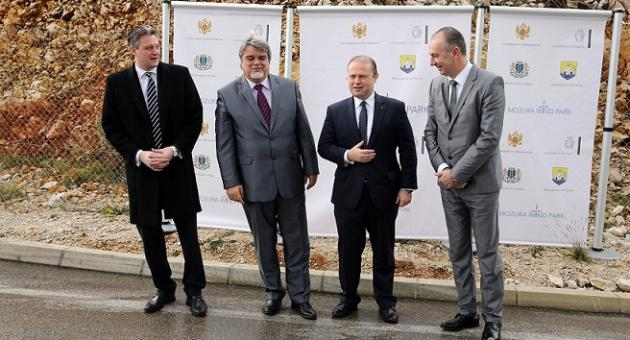 Joseph Muscat and Konrad Mizzi in Montenegro