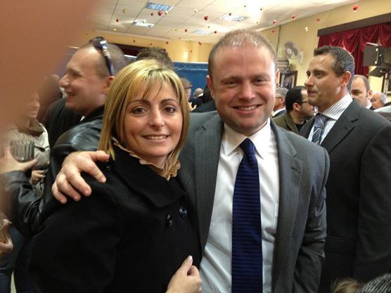 Magistrate Joanne Vella Cuschieri: a Labour Party candidate in the 2013 general election, who failed to be elected; her close friendship with Justice Minister Owen Bonnici, who appointed her, led to the first rupture in his marriage, which then broke down permanently when he was discovered to have been seeing Labour Party TV reporter Janice Bartolo